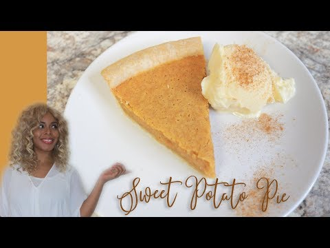Southern Sweet Potato Pie | Easiest Recipe (NEW)