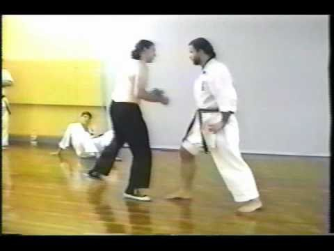 Serious Iron-Body Demonstration (Okinawan Karate) Image 1