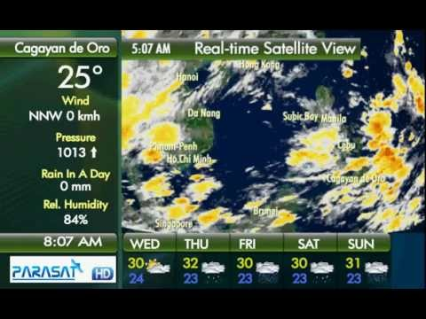 Parasat Weather Update Cagayan de Oro City: July 18, 2012