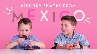 Mexican Snacks | Kids Try | HiHo Kids