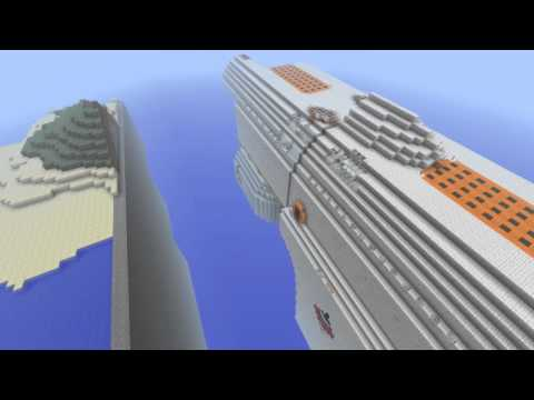 Minecraft Monday: Epic Build Space Frieghter (Free Download)