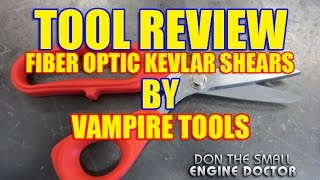 TOOL REVIEW - Fiber Optic Kevlar Shears By Vampire Tools