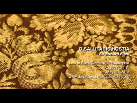 Edward Elgar - O Salutaris