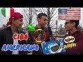 ITALIANI Mangiano CIBO AMERICANO Per La Prima Volta ● Interviste Serie
