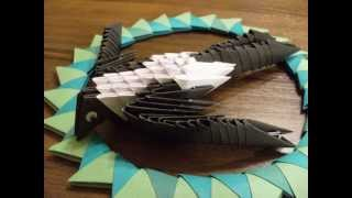 Origami 3d - Swallow - How To Make