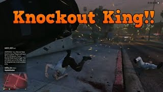 GTA V Knockout Compilation Part 2