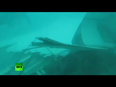 Dive Footage: AirAsia QZ8501 fuselage search & recovery