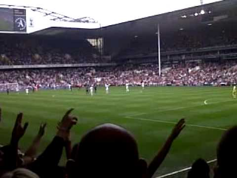 Sunderland fans at Spurs on the last day of the season