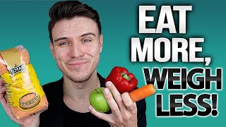 How To Eat More & Weigh Less On A Plant-Based Diet **explained**