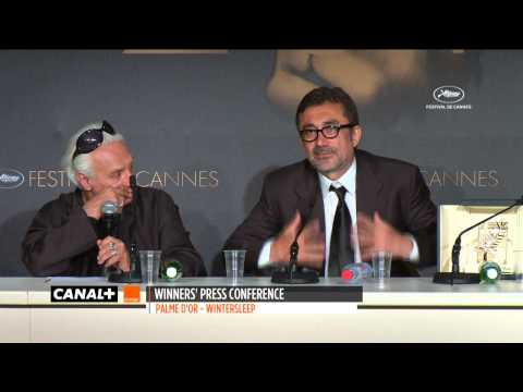 Cannes 2014 - WINTER SLEEP : Press conference Palme d'Or