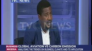 Global Aviation vs Carbon Emission: Analyzing the trends on business climate and its implications