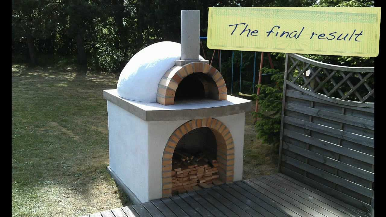 how to make clay oven at home