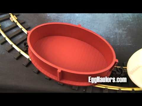 Garden Trains: EggHaulers - All new product for your Garden Railroad and Aristo-Craft Eggliners.
