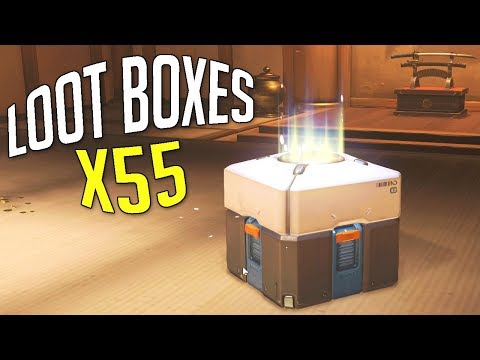 OUVERTURE DE 55 LOOT BOXES | OVERWATCH OPENING FR