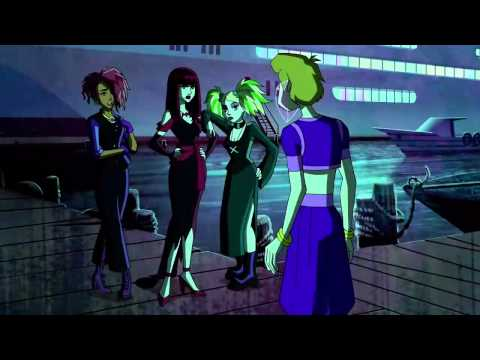 Hex Girls in original outfits - Scooby Doo Mystery Inc