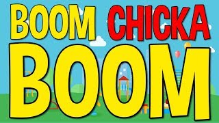 Boom Chicka Boom | Fun Dance Song for Kids | Brain Breaks | Jack Hartmann