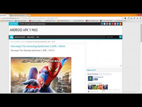 Descargar The Amazing Spiderman 2  APK + DATOS Gratis link directo