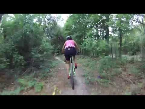 Lindsey Park, Tyler Texas : Mountain Bike Riding : 5/26/13 : Pt.1