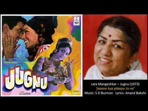 Lata Mangeshkar - Jugnu (1973) - 'jaane kya pilaaya tu-ne'