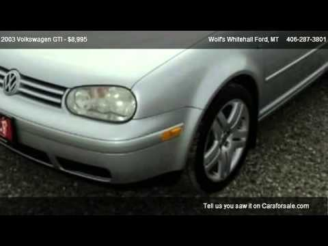 2003 Volkswagen GTI Base - for sale in Whitehall, MT 59759