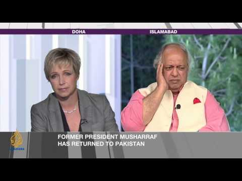 Inside Story - Pakistan's Pervez Musharraf: Risking it all?