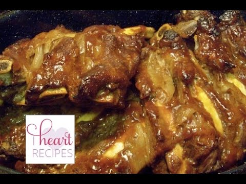 How To Make Oven Baked BBQ Pork Ribs  Barbecue - I Heart Recipes
