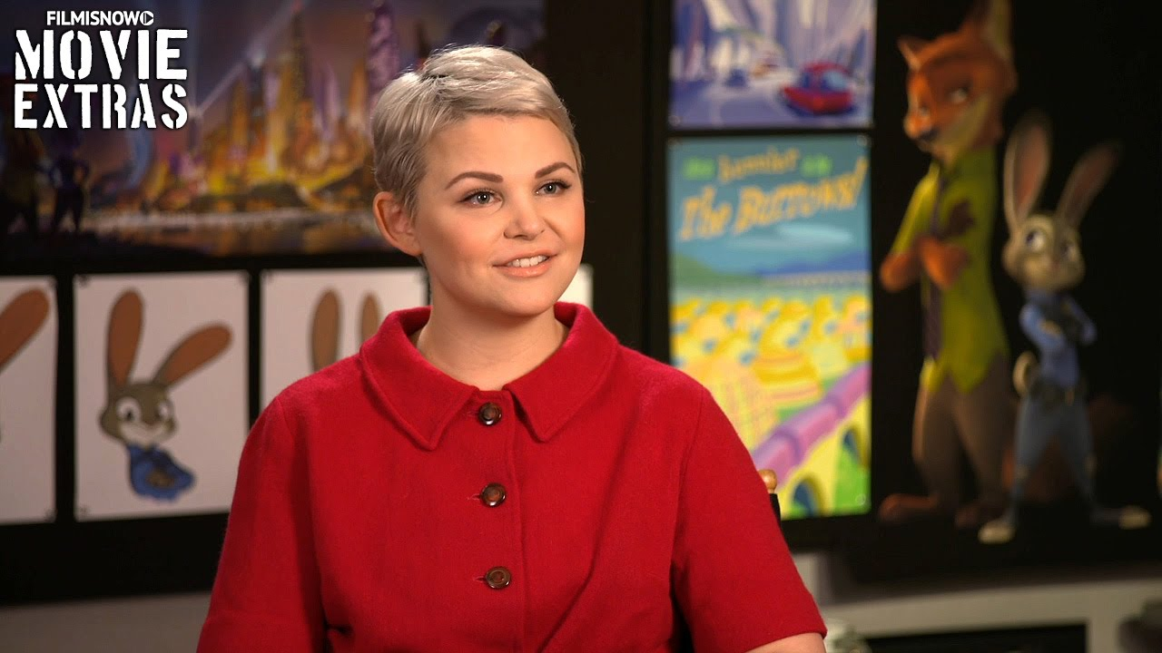 Zootopia (2016) Behind the Scenes Movie Interview - Ginnifer Goodwin