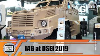 IAG from UAE unveils new RILA Xtreme MRAP and promotes Guardian Xtreme MRAP at DSEI 2019 London UK