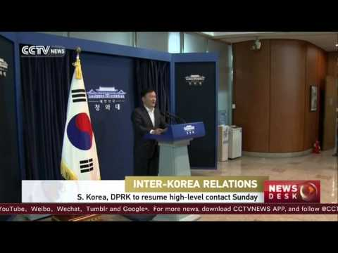 S. Korea, DPRK hold top-level talks to ease military tensions