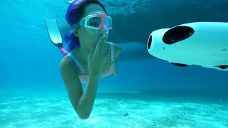 Capture stunning underwater videos with BW SPACE 4k camera