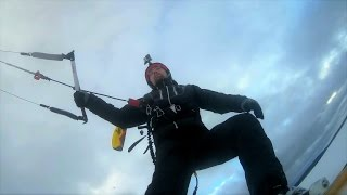 SJCAM: Snowkiting in Karelia / SJ4000+