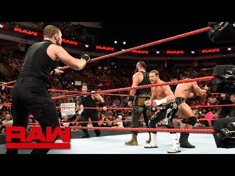 The Shield attack Braun Strowman, Drew McIntyre & Dolph Ziggler: Raw, Sept. 3, 2018 thumbnail