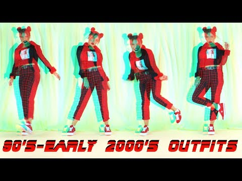 Style With Me - Early 2000's & 90's Outfits | 90's fashion