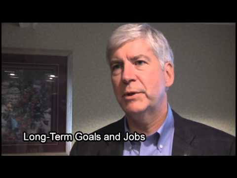 RAW Interview with Governor Rick Snyder