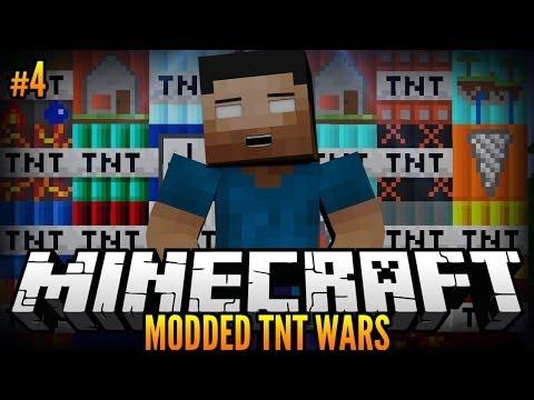 Minecraft MODDED TNT WARS