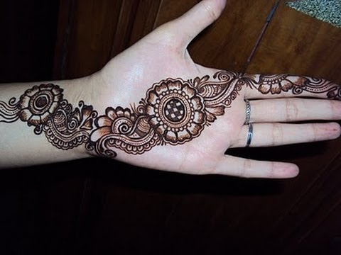 Best Arabic Henna Mehendi Design For Eid, Teej, Karwa Chauth, Indian Pakistani O
