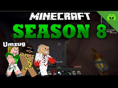 UMZUG «» Minecraft Season 8 # 18 HD