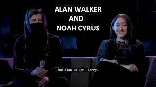 Download lagu Q&A With Alan Walker And Noah Cyrus (Early Release!) gratis