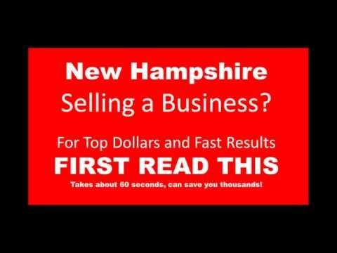 New Hampshire Selling A Business FAST