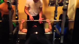 315LB BENCH PRESS AT 160LB (BENCHING 1.97X MY BODYWEIGHT)
