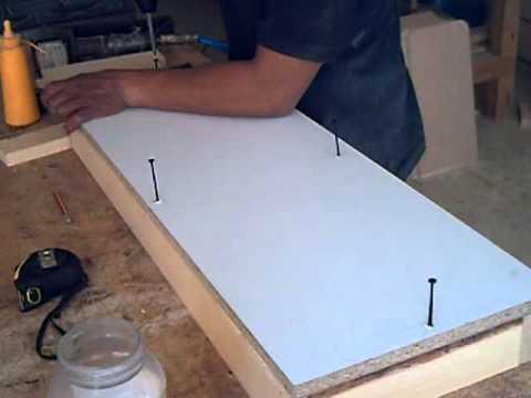 Tutorial Como hacer un modulo o librero en melamina parte 4, diy Hágalo usted mismo.