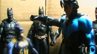 Batman and Nightwing: Meet The Batmen