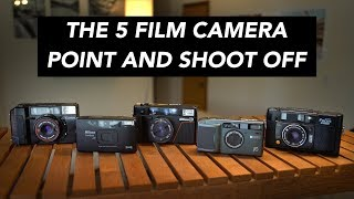 The 5 Film Camera Point & Shoot Comparison – Canon AF35M vs Nikon L35AF and more!