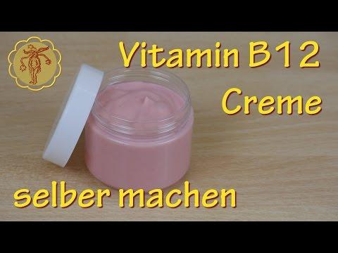 Vitamin-B12-Creme selber machen - gegen Neurodermitis und Schuppenflechte