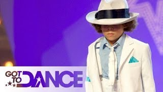 Mini King of Pop: Got To Dance Audition