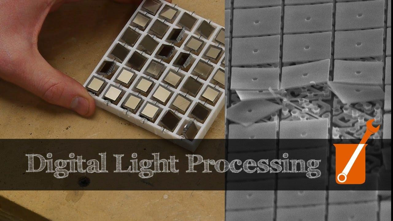 How Digital Light Processing Dlp Works Youtube