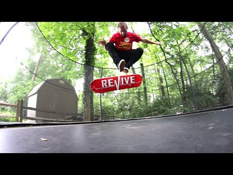 Trampoline Game OF S.K.A.T.E. ! Andy Schrock VS Casey Bechler