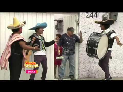 Los destrampados (serenata a jessica)2013