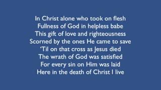 In Christ Alone Without Vocals Taken From Isingworship