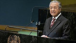 Dr M addresses UN General Assembly